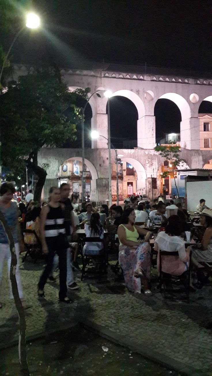 Never seen a party like in Lapa (6 years ago)... Still good now.