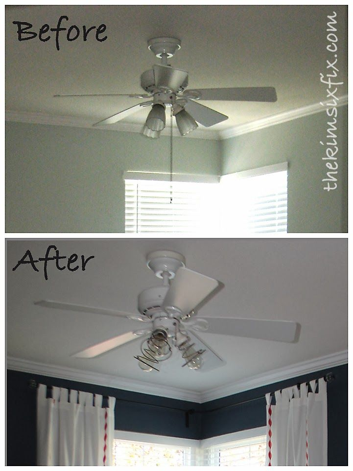 67 Best Images About Ceiling Fan Makeover On Pinterest