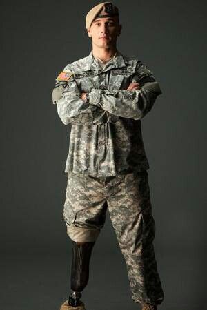 """Army Ranger Joe """"Kap"""" Kapacziewski.  The only Ranger to return to a combat deployment after an amputation of a leg.  Hoo-ah!  Read his autobiography, """"Back in the Fight."""""""
