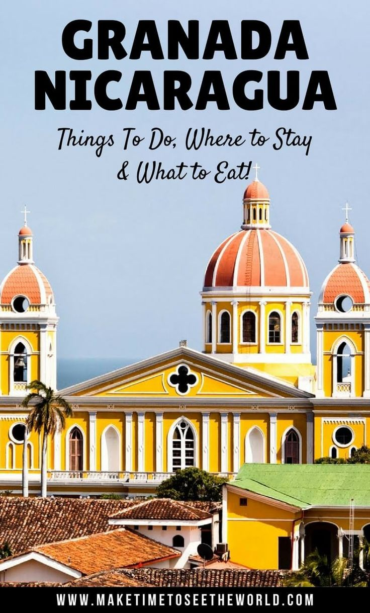 Click for your guide to Granada Nicaragua Things To Do, Where To Stay and What To Eat. Read on to find out what makes Granada the new traveler hotspot! ************************************************************************************************ Granada Nicaragua Things To Do | Things To Do in Granada | Granada Nicaragua Places To Visit | Granada highlights Nicaragua