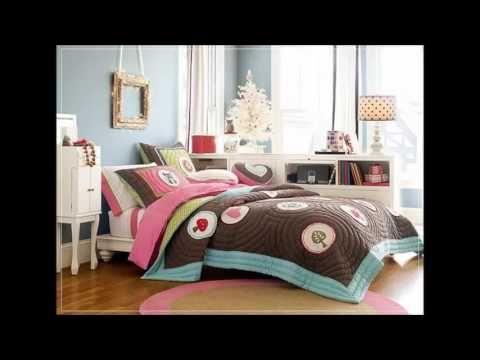 Ide desain kamar tidur remaja perempuan cantik