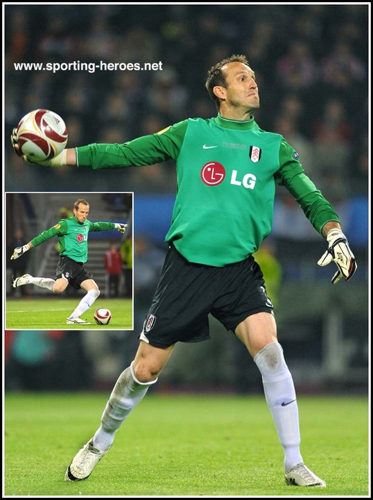 Mark Schwarzer, reserve goalkeeper Chelsea FC (& ex-Fulham FC)