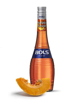 Bols Pumpkin Smash is the perfect ingredient for cocktails and dessert during the holiday season. It boasts the flavor of real pumpkin infused with cinnamon and nutmeg giving it a delicious nutty experience. Bols Pumpkin Smash is delicious in a Pumpkin Martini or a punch. http://www.bols.com/us/products/bols-pumpkin-smash/