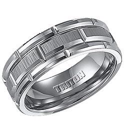 Triton Tungsten Carbide Wedding Ring