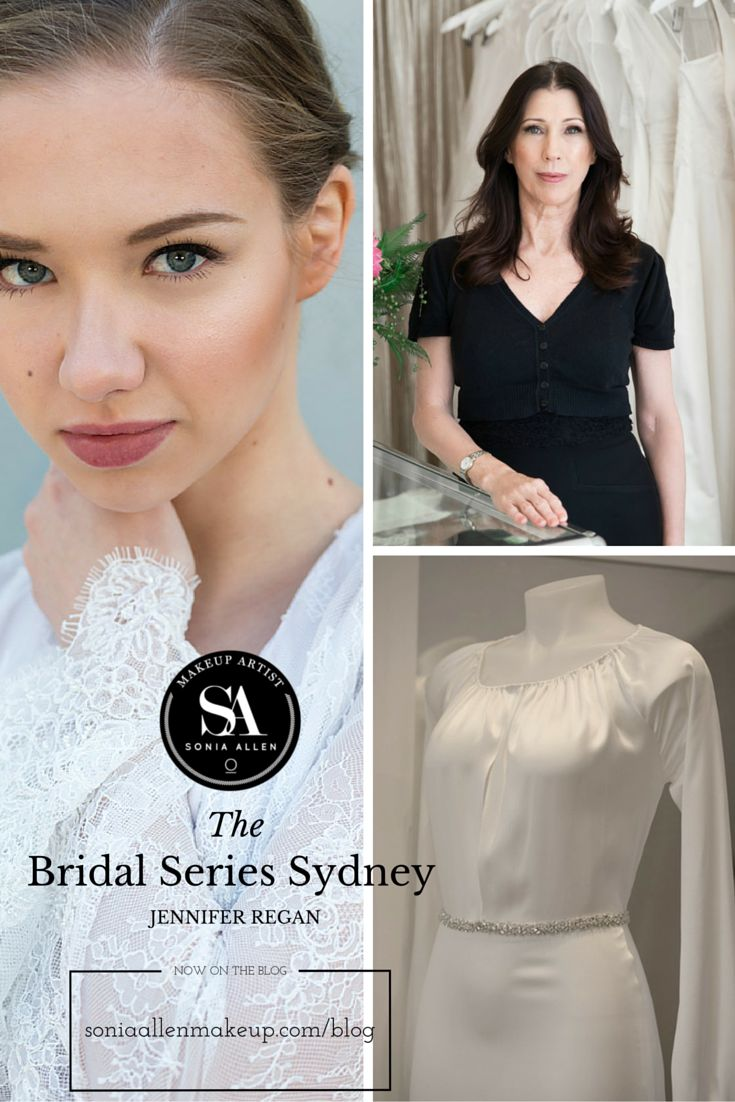 THE BRIDAL SERIES SYDNEY: JENNIFER REGAN (Wedding Collection: Apr 2016) One more thing to love about Sydney's Newtown is wedding gown designer Jennifer Regan. Now profiled on The Bridal Series Sydney. http://soniaallenmakeup.com/blog/the-bridal-series-sydney-jennifer-regan/