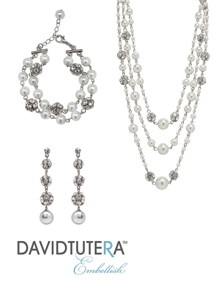17 best images about wedding jewelry on pinterest pearl for David tutera wedding jewelry collection