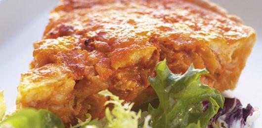 Quiche de bacalhau - Fique a conhecer todas as receitas tradicionais portuguesas em: www.asenhoradomonte.com