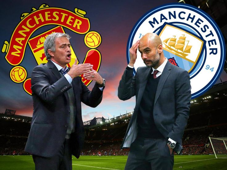 SUNDAY DERBY: Jose Mourinho has spent a decade building to stop Pep Guardiola's tactics and Manchester United are ready