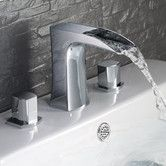 Found it at AllModern - Fortore Double Handle Widespread Vanity Faucet