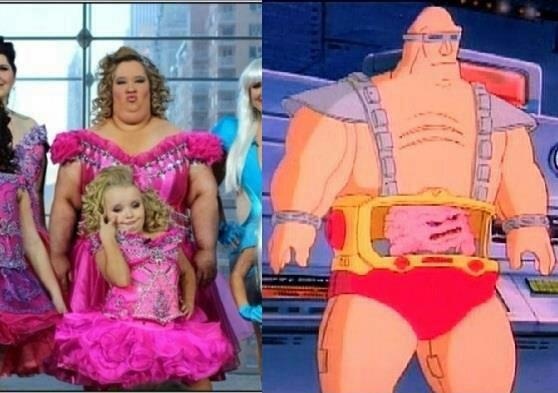 Honey Boo Boo va ninja turtles