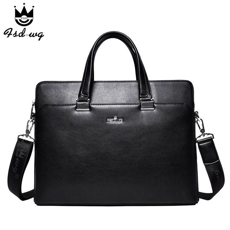 New mens business briefcase shoulder bags mens crossbody bag bolsas famous brand designer mens handbag bolsos wholesale
