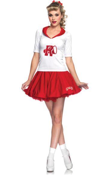 Grease Sandy Cheerleader Costume | Jokers Masquerade