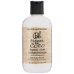 Bumble and bumble - Creme de Coco Conditioner. The best moisturizing shampoo & conditioner combo I have found for dry, curly hair!