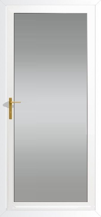 Fully Glazed upvc door range, high quality external front/back Upvc Doors, supply only of fully fitted by Just Value Doors, your front door specialist