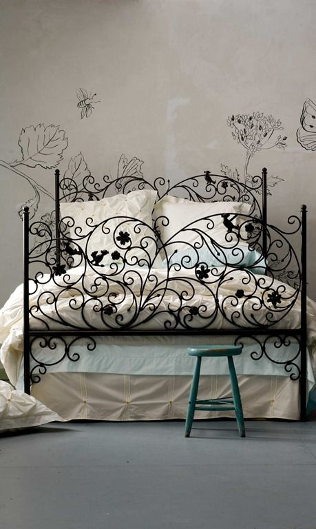 the bedrooms of your dream iron workwrought iron