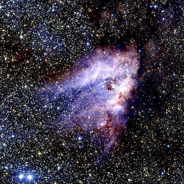 87 отметок «Нравится», 5 комментариев — Amo La Astronomía Y La Física (@astronomiafisica) в Instagram: «Nebulosa del Cisne. Se encuentra en la constelación de Sagitario. Distancia a la tierra: 5500 años…»