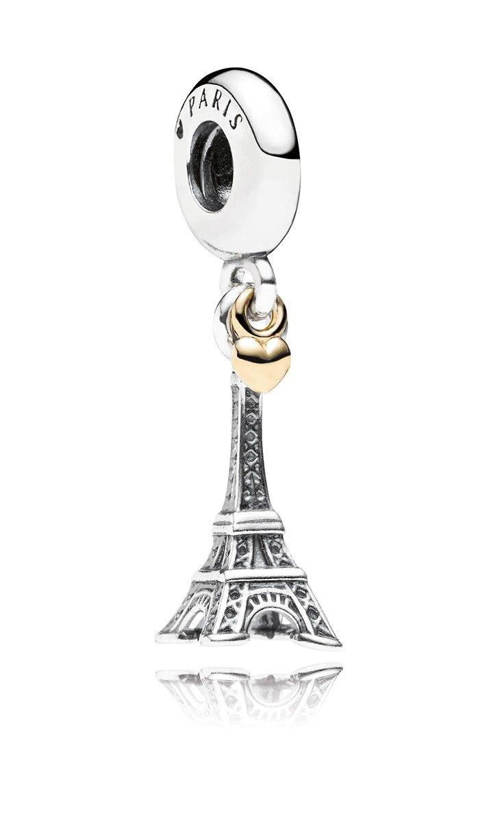 Pandora bracelet dillards - Paris Charm