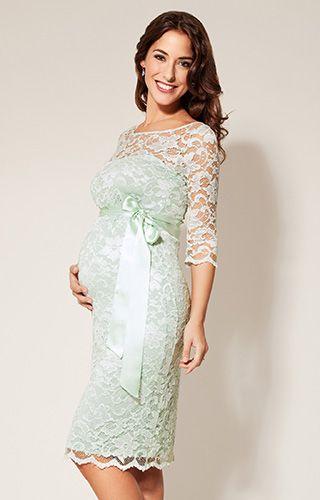 Amelia Maternity Dress Short Waterlily by Tiffany Rose