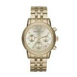 Michael Kors MK5676 Ladies Gold Plated Chronograph Watch