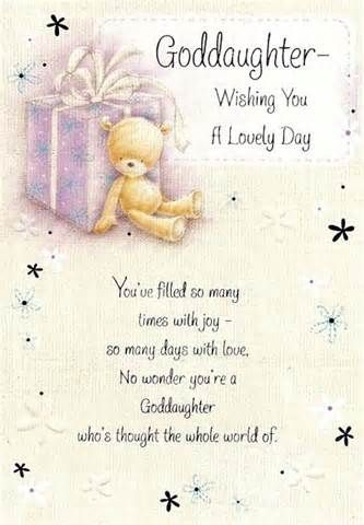 happy birthday god daughter quotes and images - Yahoo Search Results