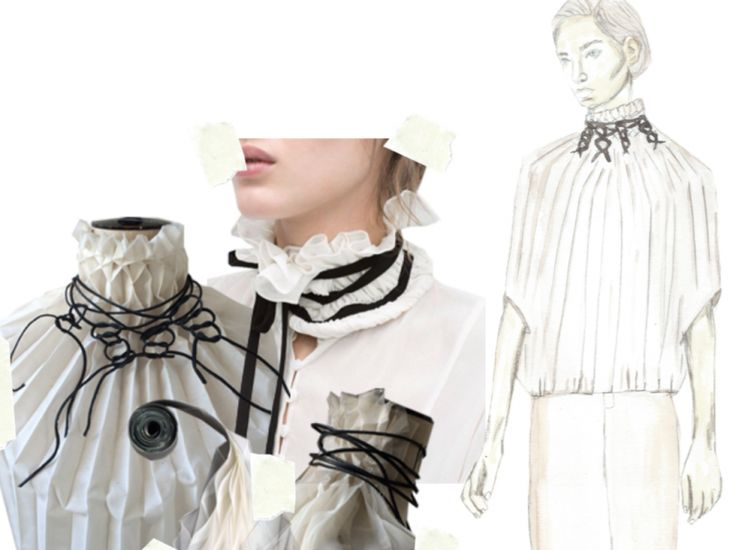 Fashion Sketchbook - fashion illustration & textile development; fashion…