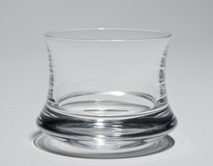 """Glass from the """"Romantica"""" Service Designed by Tapio Wirkkala, Finnish, 1915 - 1985. Made by Iittala Glassworks, Iittala, Finland, established 1881. Philadelphia Museum of Art - Collections Object :"""