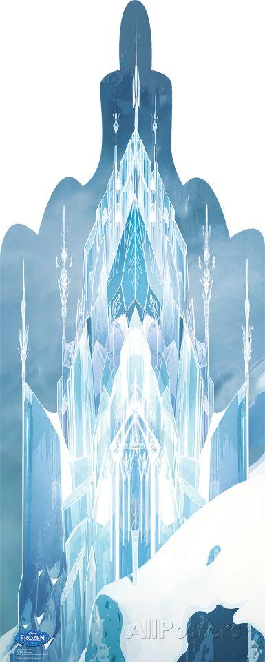 Frozen Ice Castle - Disney's Frozen Lifesize Standup Cardboard Cutouts at AllPosters.com