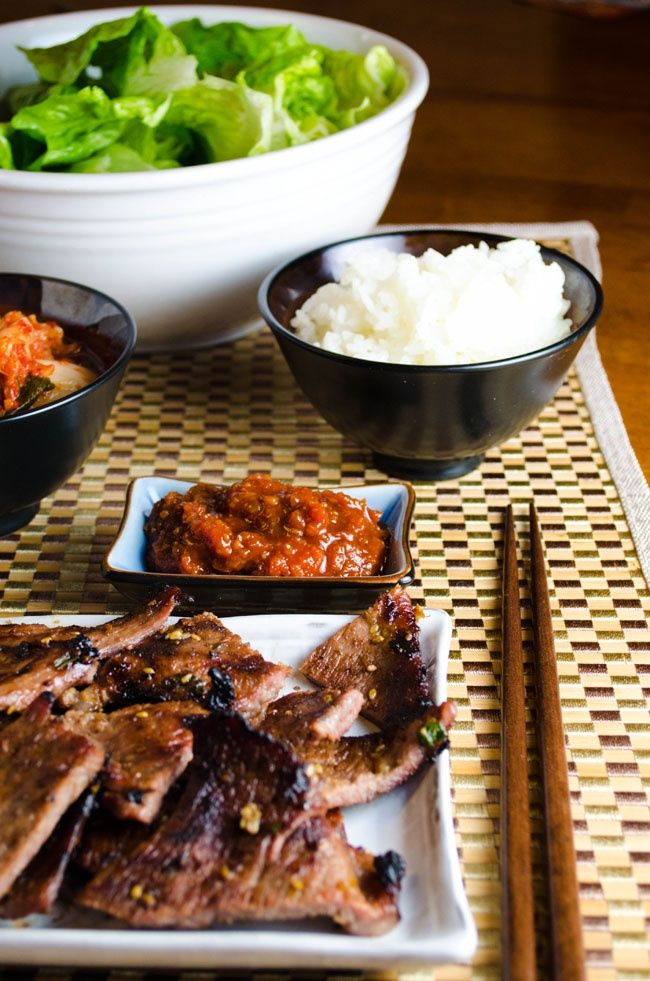 Super nice 95 Korean BBQ Food Photos that will make you MELT!