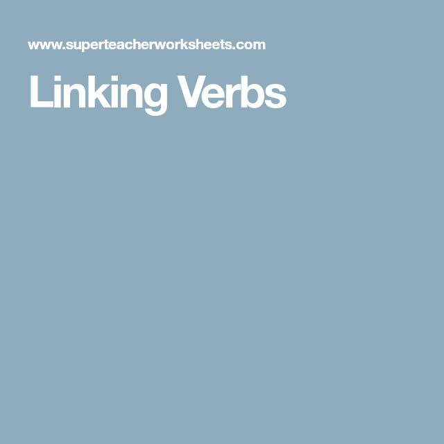 Best 25+ Linking verbs ideas on Pinterest Grammar anchor charts - action words list