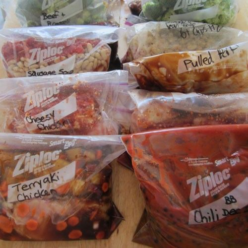 These slow-cooker freezer meals from some of our favorite food bloggerswill change your life—trust us. Spend a few hours chopping and dicing once a week, then throw the ingredients together in a plastic bag and freeze for at least 24 hours. The result? Easy, flavorful make-ahead meals that prepare themselves in your slow cooker.