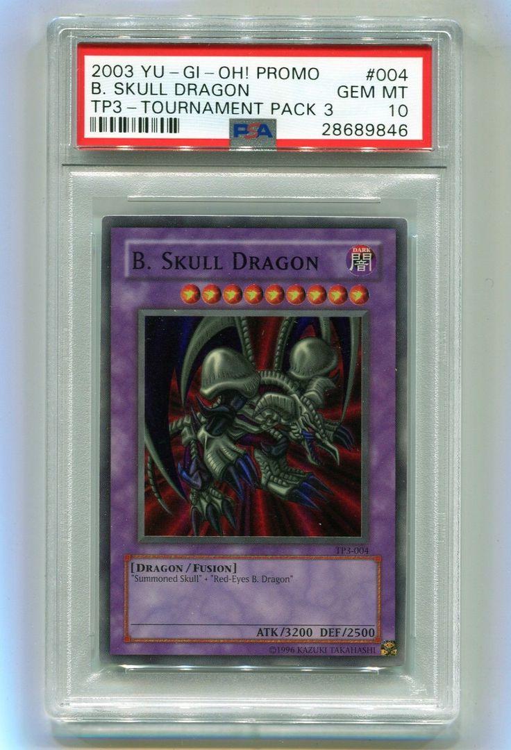 2003 yugioh tournament pack 3 b skull dragon tp3004