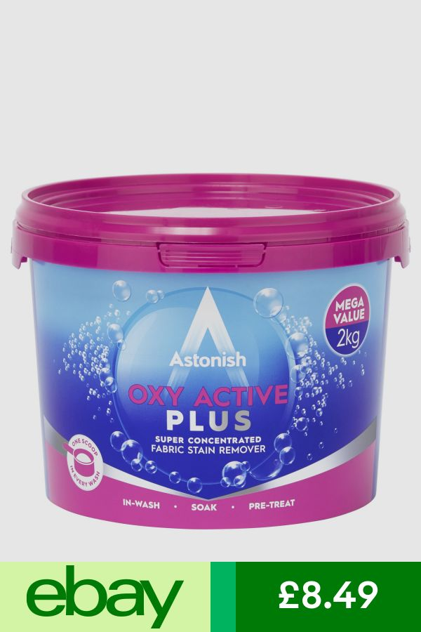 Astonish Laundry Multi Purpose Oxy Plus Stain Remover Cleaner Tub 2kg Ukb699 Fabric Stain Remover Stain Remover Fabric Stains