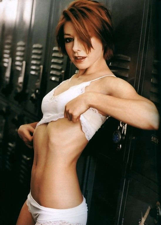 Are Hot alyson hannigan bikini you