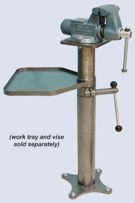 Adjustable vise stand... Definitely need one of these.
