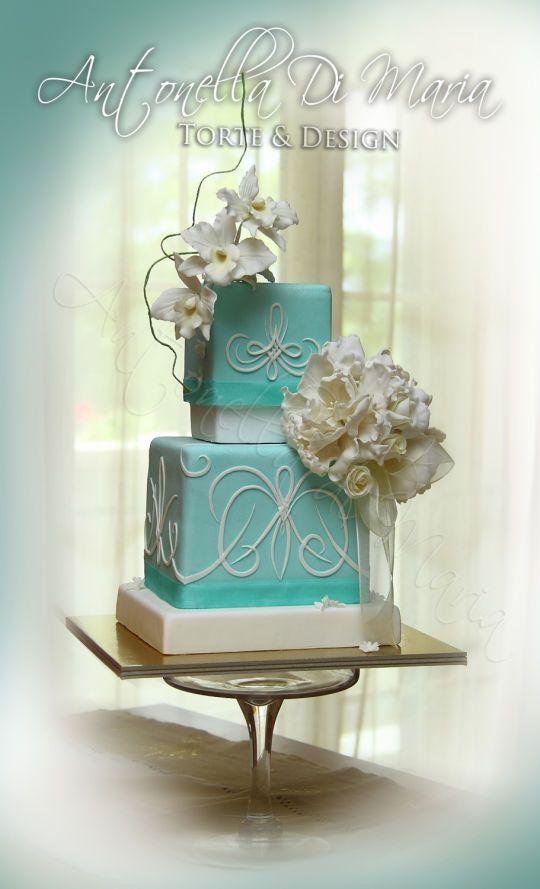 Tiffany's Wedding Cake