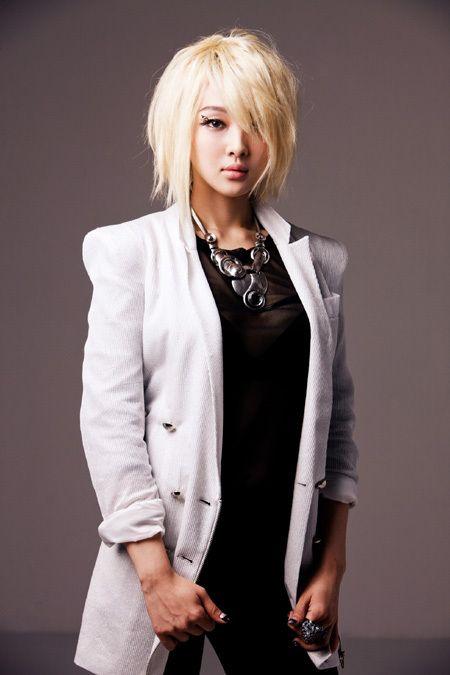 Cute Asian Hair » Blog Archive » Blonde Medium Straight Messy » Cute Asian Hair