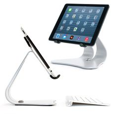iPad Air Stand & iPad Stand Matching Apple Products Silver Stabile 2.0
