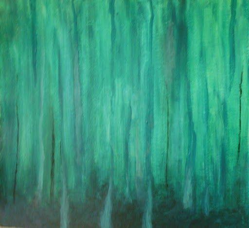 Abstracto en verde.