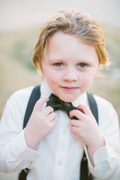 little man in a bow tie