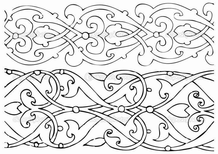 Éléments de design Arabesque — Image vectorielle emirsimsek © #3730396
