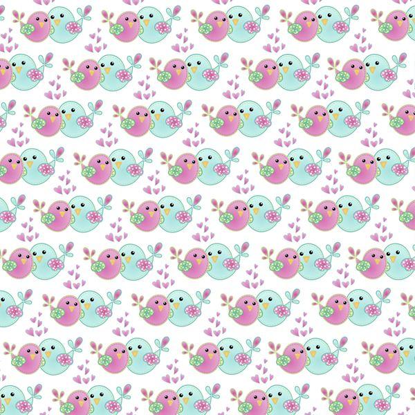 D045 - Sisters Bird - Fabricart Tecidos - Estampa Digital