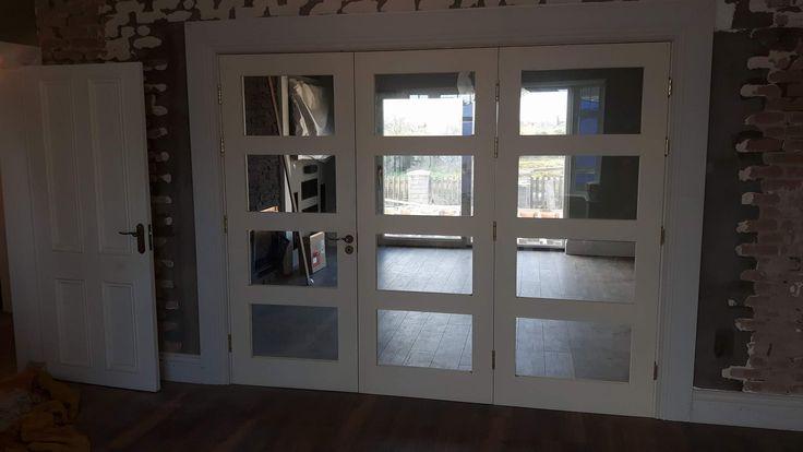 Bi folding doors by Murphy Larkin Timber Products
