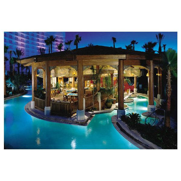 The Best Las Vegas Swimming Pools Spot Cool Stuff Travel Found On Polyvore Dream Home