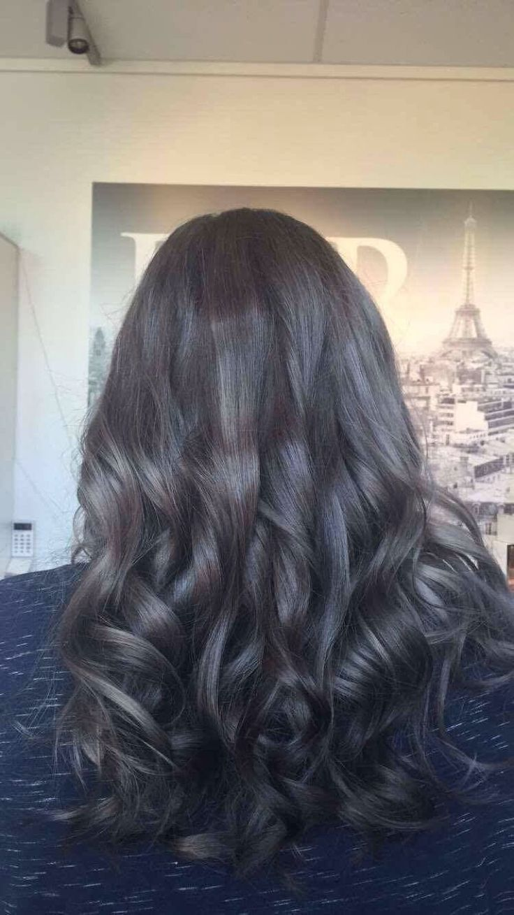 A stunning Steele grey colour recently done in the salon.