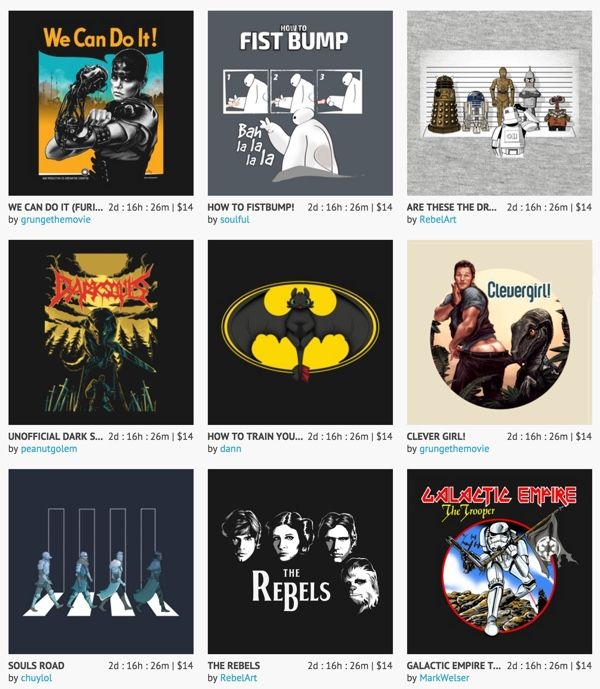 Our $14 Nerdy Shirt Sale Ends This Weekend! [Deals] (ends 9/13/15)