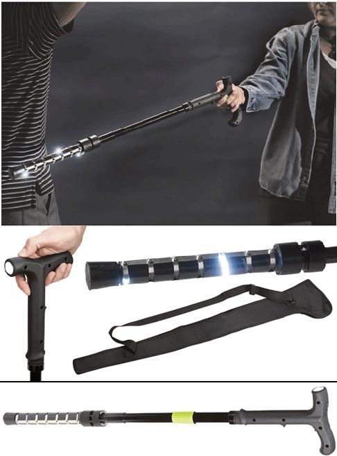 Just Because Someone Is Handicapped or Elderly, Doesn't Mean They Can't Defend Themselves! The 1 Million Volt ZAP Walking Cane Stun Gun With Flashlight has electrodes that will take down an attacker of up to 250 pounds and includes incredible features! Blog: http://womenonguard.blogspot.com/2015/08/just-because-someone-is-handicapped-or.html Store: http://www.womenonguard.com/zap-walking-cane-stun-gun handicapped,elderly,walking cane,1 million volt,stun gun,flashlight,