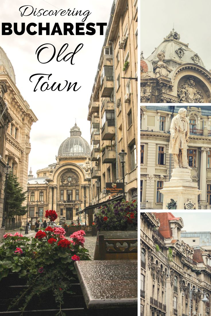 Discovering Bucharest Old Town | ROMANIA