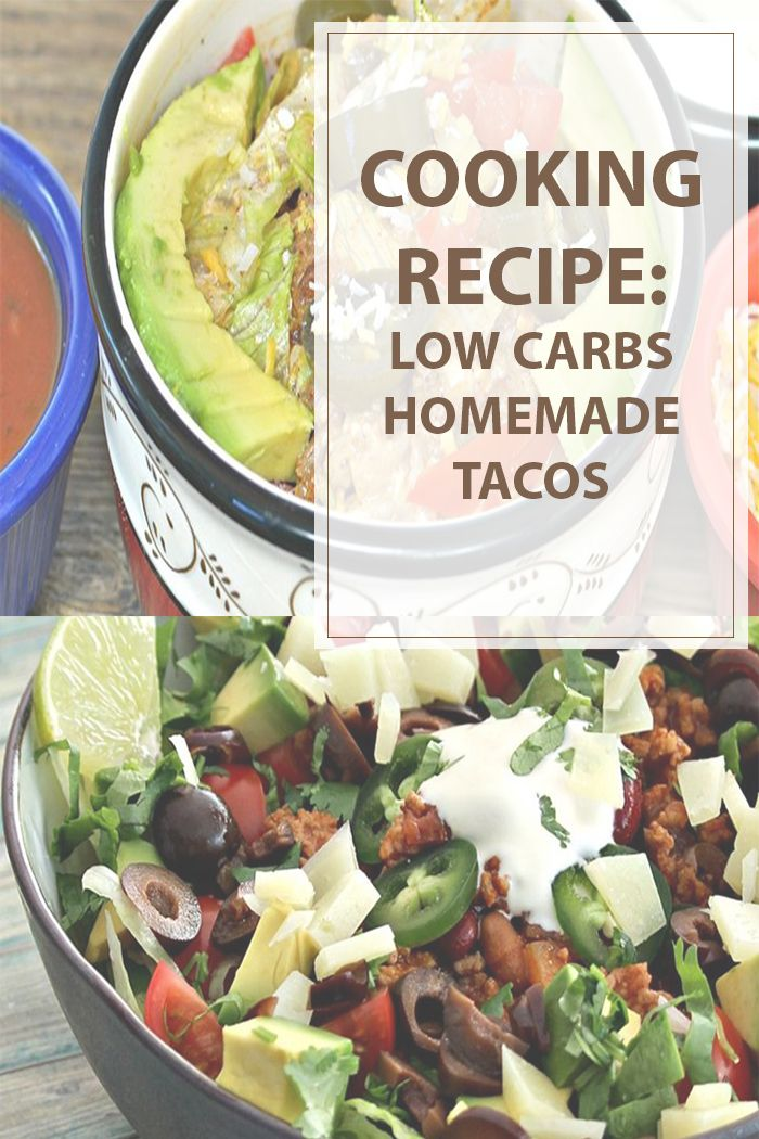 Low carbs tacos cooking recipe is an easy way to make an alternative tacos in your home. If you love Mexican food and you are on a diet this is the recipe. #cooking #recipe #lowcarb #food #healthy | www.housewiveshobbies.com |