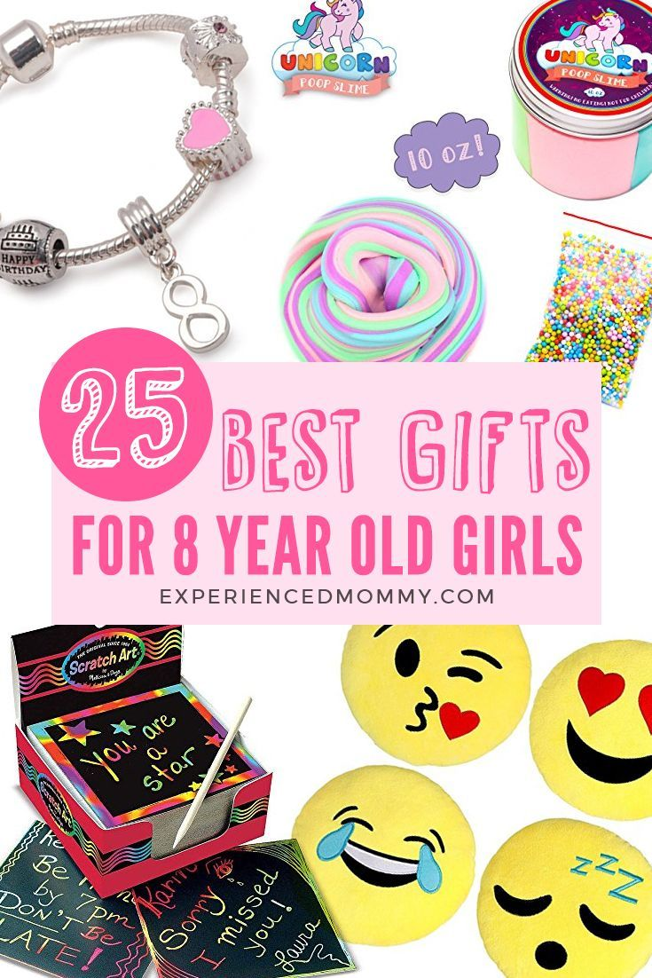 8 Year Old Christmas Gift Ideas 2020 Browse through some of the best gifts for 8 year old girl! You'll