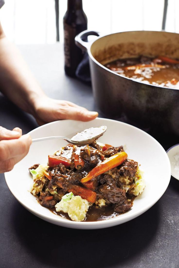 How To Make Perfect Beer Braised Beef Stew RecipesMeal RecipesCrock Pot RecipesFoxs NewsFood Network
